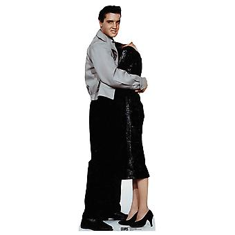 Elvis Hugging Stand in Official Lifesize Cardboard Cutout