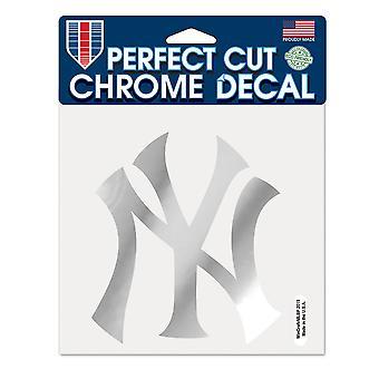Wincraft Sticker 15x15cm - MLB CHROME New York Yankees