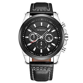 OCHSTIN GQ065 British Gentleman Wind Men Montre-bracelet Bussiness Style Quartz Montre