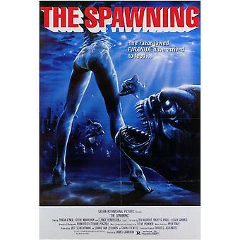 Piranha 2 The Spawning Movie Poster Print (27 x 40)