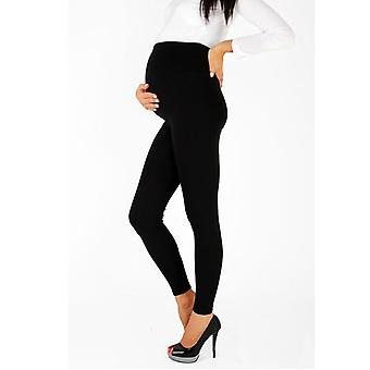 Reglabil Big Size Leggings / pantaloni de maternitate noi pentru femeile gravide subțire moale