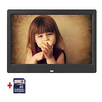 10,1 tuuman hd-digitaalinen valokuvakehys 1024x600 Hd Erittäin ohut led-elektroninen valokuva
