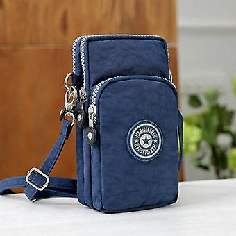 Women Cross-body Mobile Phone Shoulder Bag Pouch Case Belt Purse Wallet Coin