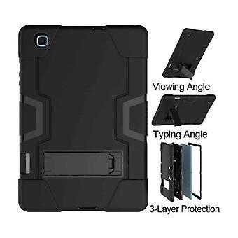 FONU Shock Proof Standcase Cover Samsung Galaxy Tab S6 LITE - 10.4 pouces (P610 / P615) - Noir