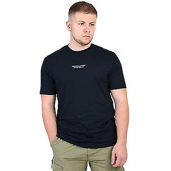 Marshall Artist Siren Injection T-Shirt - Navy