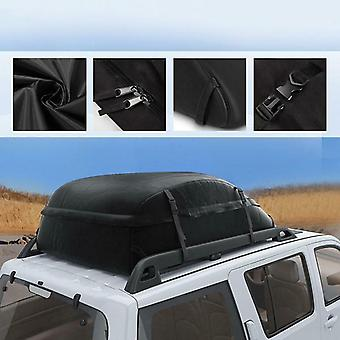 130x100x43cm 20 Cubic Car Cargo Roof Bag Waterproof Rooftop Luggage Carrier