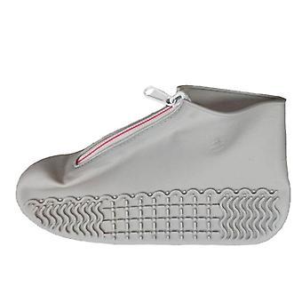 Unisex Uudelleenkäytettävät vedenpitävät kengät Kannet Liukumattomat Sadesuojat