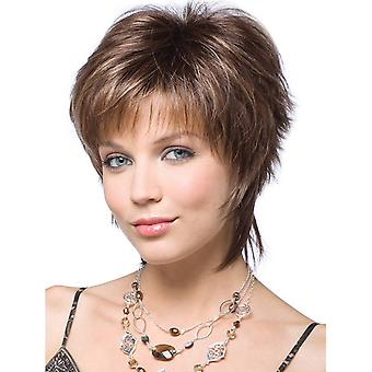 Brand Mall Wigs, Lace Wigs, White Short Hair Straight Hair