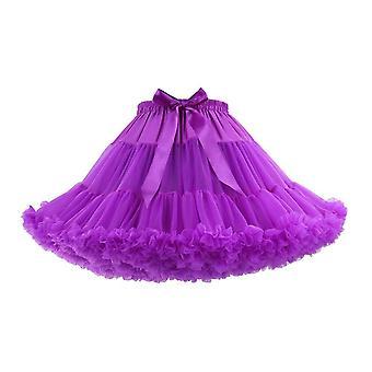 Robe courte de jupon de Tulle, jupe, robe de gâteau
