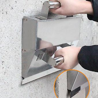 Stainless Steel, Plaster Scraper With Handle Mortar, Hand Tools, Anti-slip
