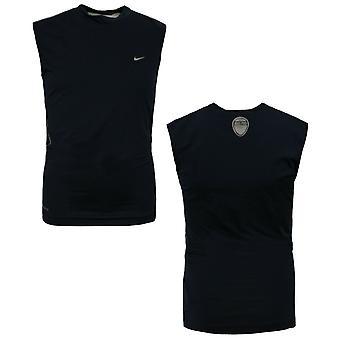 Nike Fit Pro Vent Lasten koulutussäiliö Top Pojat Nuoret Liivi Laivasto 423408 419 KA189B