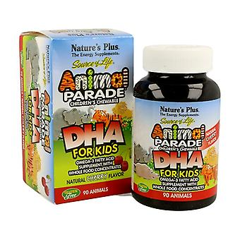 Animal Parade Dha (Cherry flavor) 90 tablets
