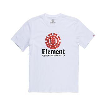 Element mænd T-Shirt ~ lodret optic white