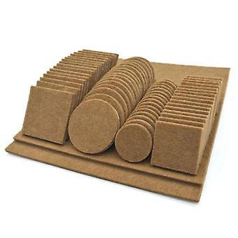 家具椅子テーブルの足の自己接着は木製の床の保護のパッドを感じた