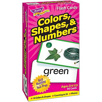 Farben, Formen & Zahlen Skill Drill Flash Karten