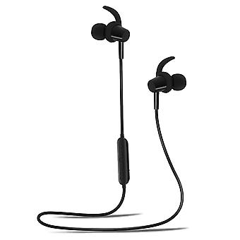 Magnetic Bluetooth Sport Headset with 4Sport Fenders BSH-400 Forever Black