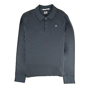 CP Company Cp Company Tacting Long Sleeve Polo Gris foncé