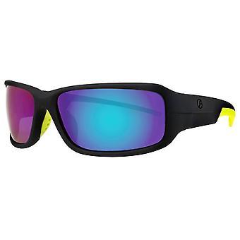 Freedom Classic Sport Sunglasses - Matte Black/Green