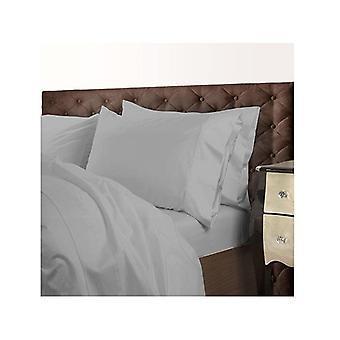 Royal Comfort 1000 Tc Cotton Blend Quilt Cover Set Premium Silver