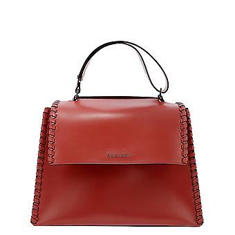 Orciani Bt2006lmfiamma Women's Red Leather Handbag