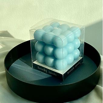 Round Magic Cube Candle Mould Soy Wax Essential Oil Aromatherapy Diy Candle