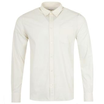Norse Projects Osvald Corduroy Shirt - Oatmeal