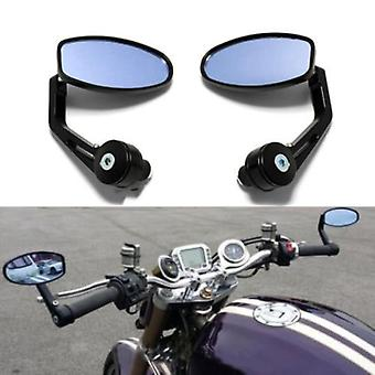 "Motorcycle 7/8""handlebar Bar End  Rear View  Mirrors For Cafe Racer Street"