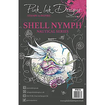 Pink Ink Designs Clear Stamp Shell Nymph A5