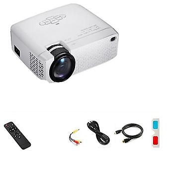 3d Home Theater Portable Beamer Full Hd 1920x1080p Video Projector
