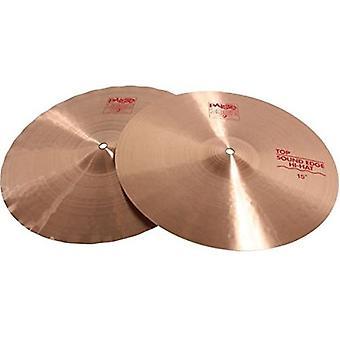 Paiste 2002 classic cymbal sound edge pair hi-hat 15-inch