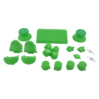 Full button set for ps4 pro sony controllers mod kit replacement repair kit - green | zedlabz