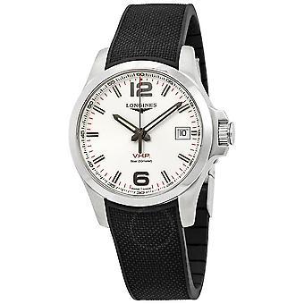 Longines Conquest V.H.P. White Dial Men's Watch L37164769
