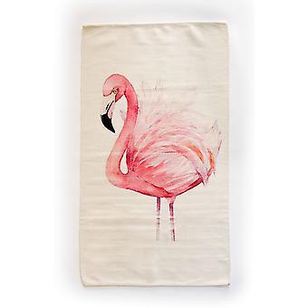Spura Home Light Pink Flamingo Contemporary 3x5 Novelty Area Rug for Bedroom