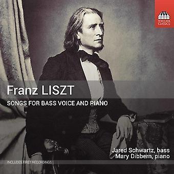 Liszt / Schwartz / Dibbern - Songs for Bass Voice & Piano [CD] USA import