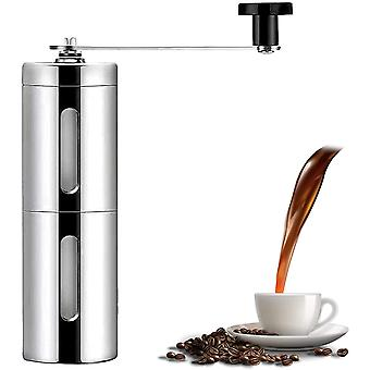 Manual Coffee Grinder,Adjustable Stainless Steel Grinder,Compact Size Perfect for Your Home/Office /