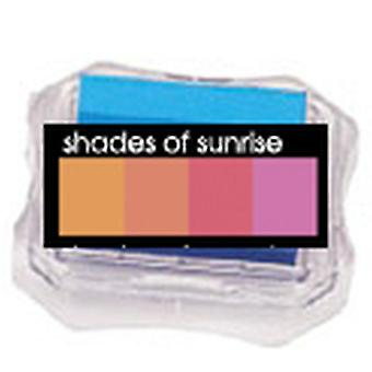 Uchida Blending Blox Ink Pads - Shades Of Sunrise