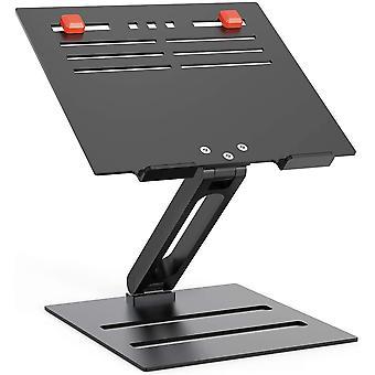 HanFei Aluminium Laptop Stnder, hhenverstellbarer Laptop Riser mit Wrmeableitung,faltbares