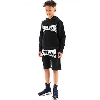 DSQUARED2 Kids Black Logo Short