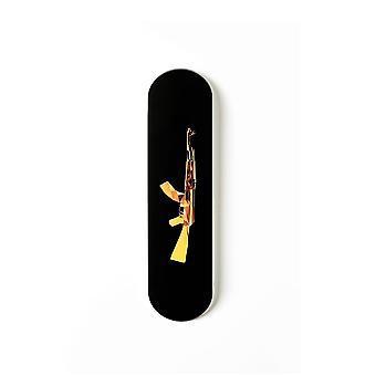 Gold ak 47 Skateboard