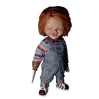 Child's Play 2 Chucky Puppe 15- Talking Mega Scale Menacing Chucky, aus Kunststoff, mit Soundchip, von Mezco.