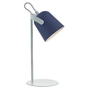 Task Task Lamp Blue & White