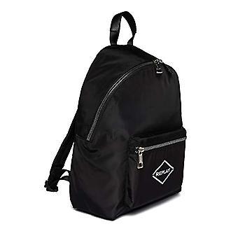 إعادة FU3071، حقيبة ظهر. للجنسين الكبار، 098 أسود، يونيك