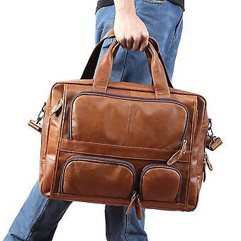 حقيبة رجالية جلدية أصلية