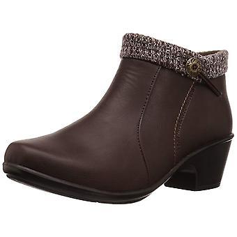 Easy Street Womens Dawna Almond Toe Ankle Fashion Boots