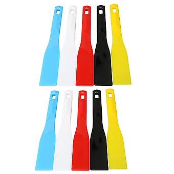 10PCS afdrukken plastic inkt schoppen 29,5x4,5cm voor diy schilderij accessoire