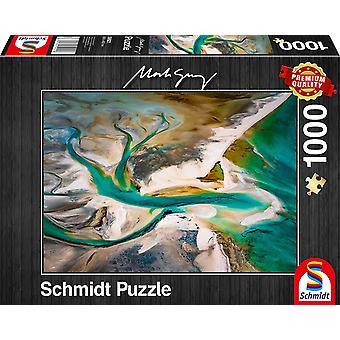 Schmidt  Mark Gray: Fusion Jigsaw Puzzle - 1000 Pieces
