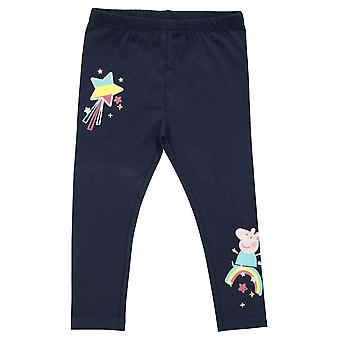 Peppa Pig Baby Girls Rainbow Leggings