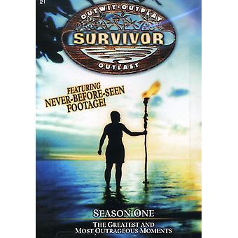Survivor - Survivor: Season 1-Greatest & Most Out [DVD] USA import