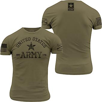 Grunt Style Army - Est. 1775 T-Shirt - Military Green