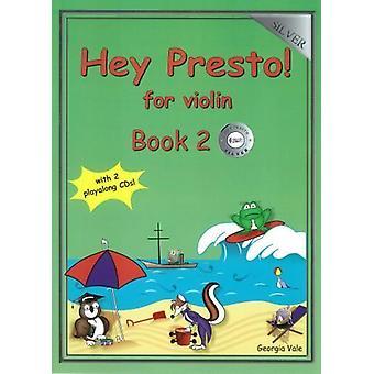Hej Presto! För violinbok 2 (Silver)